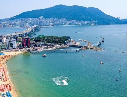 The reborn of Songdo Beach after 100 years