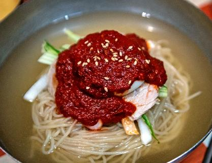 Wheat noodles, a mysteriously addictive summer food from Busan