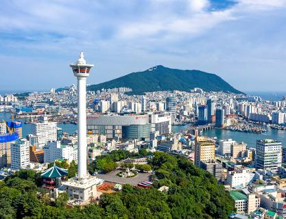 Busan's main landmark where you can enjoy culture and sightseeing in one place